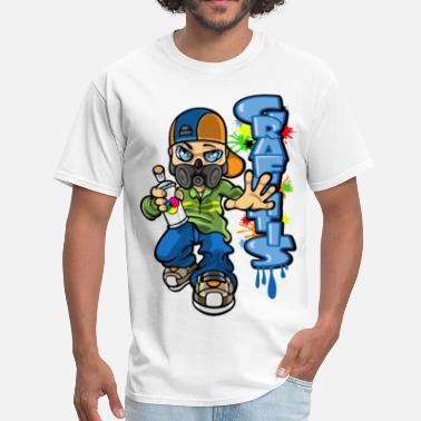 82fe3ad8 Graffiti B-boy graffitis - Men's T-Shirt