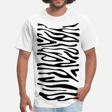 Animal Print Zebra Print 2 - Men's T-Shirt