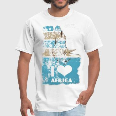 I Love Africa I Love Africa - Men's T-Shirt