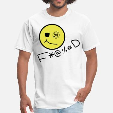 Fucked Smiley Face Fucked Smiley Face - Men's T-Shirt