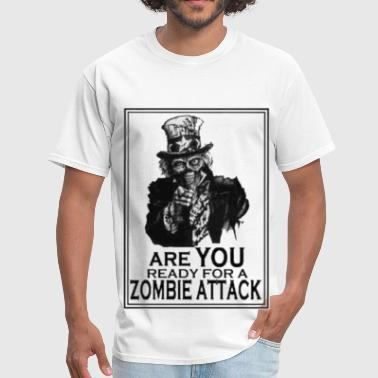 Weird Uncle Zombie Readiness - Men's T-Shirt