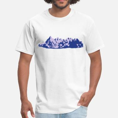 Cool Mountain Mountains, Mountain - Men's T-Shirt