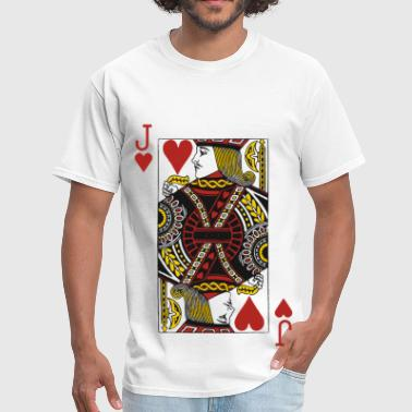 Jack of Hearts - Men's T-Shirt