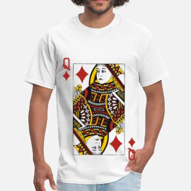 Queen Diamonds Queen of Diamonds - Men's T-Shirt