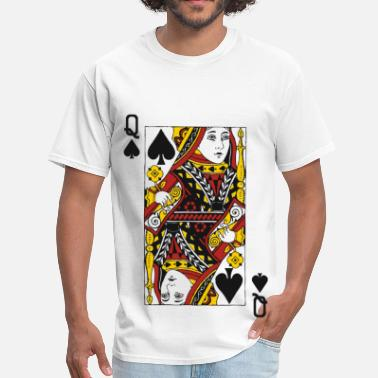 Queen Of Hearts Queen of Spades - Men's T-Shirt