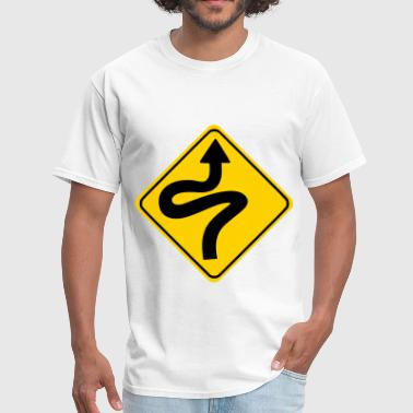 Road Sign - Men's T-Shirt