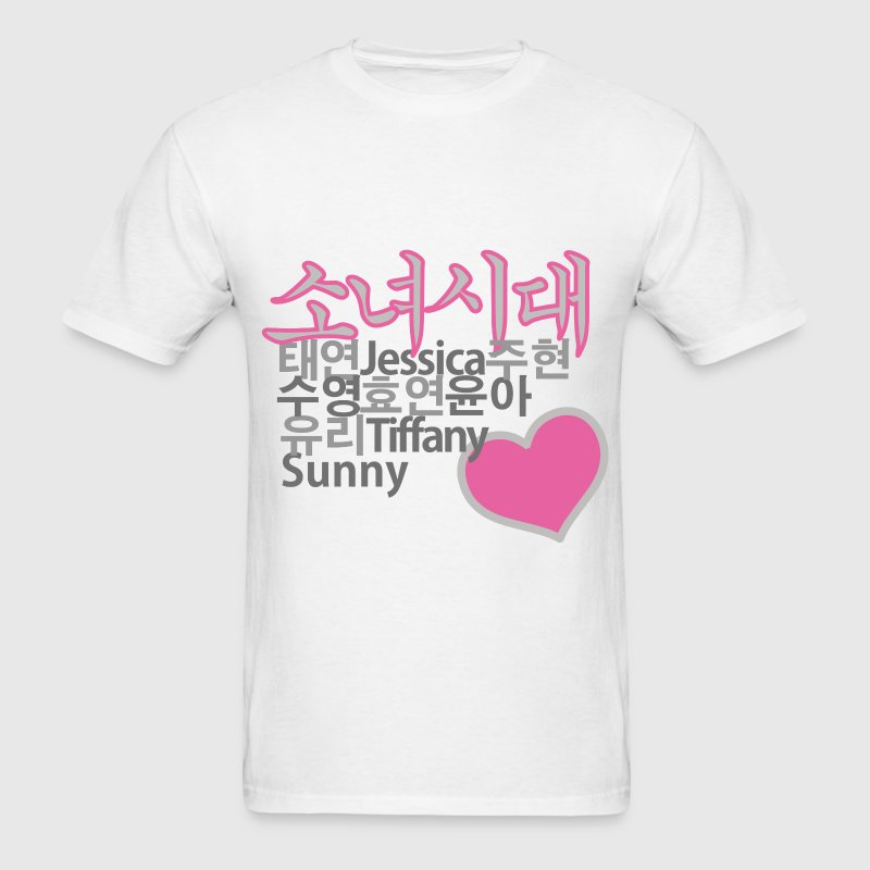 SNSD Girls' Generation - Men's T-Shirt
