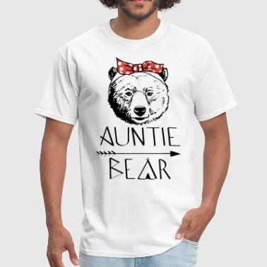 auntie bear uncle t shirts - Men's T-Shirt