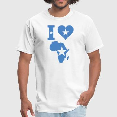 Somalia Love Africa Somalia Flag - Men's T-Shirt