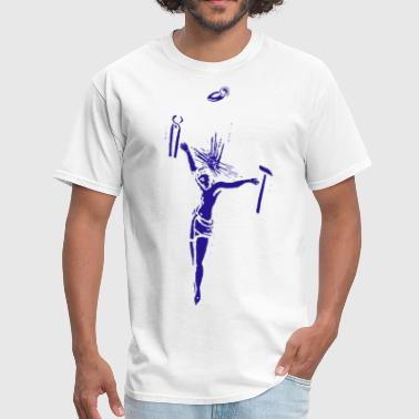 Jesus Nerd Jesus Cross - Men's T-Shirt