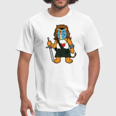Brave Lion Brave Of Heart Lion - Men's T-Shirt