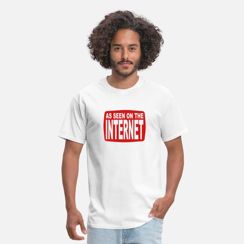 Cool T-Shirts - As Seen on the Internet - Men's T-Shirt white