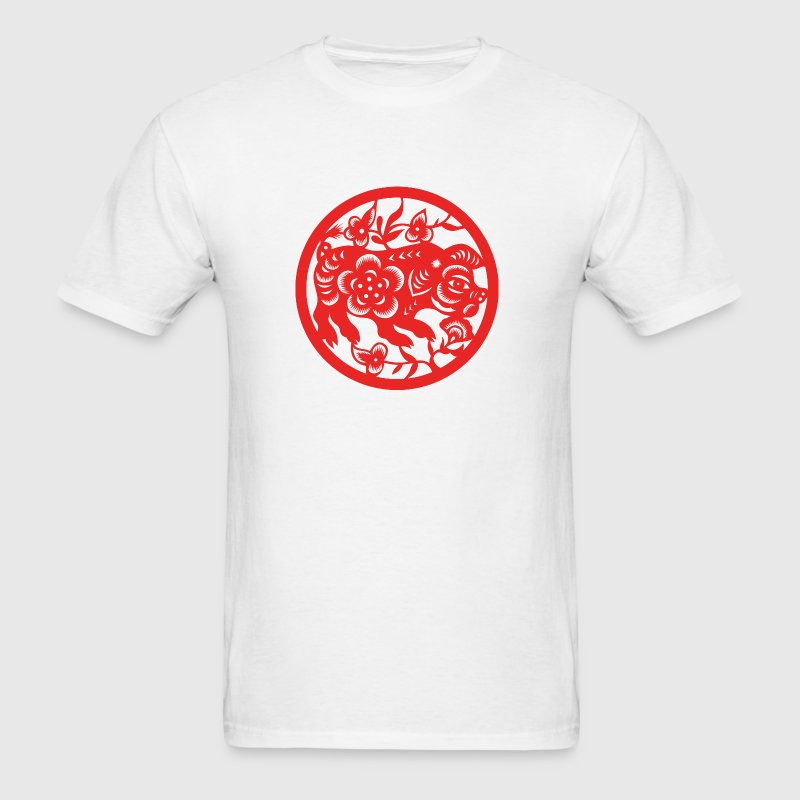 Chinese New Years - Zodiac - Year of the Pig - Men's T-Shirt