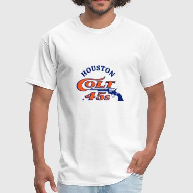 Houston Colt Retro Baseball Grey softball - Men's T-Shirt