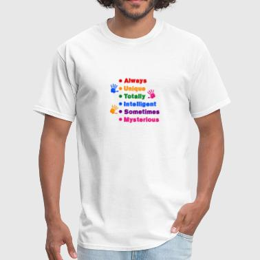 Autism Awareness Color Cool Gift Amazing Nice Fun - Men's T-Shirt