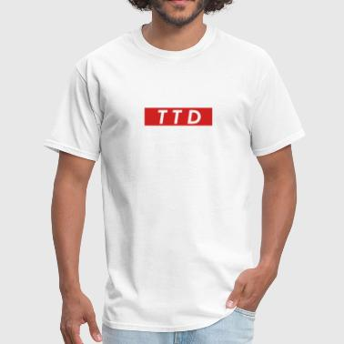 TTD Meme Box Logo - Men's T-Shirt