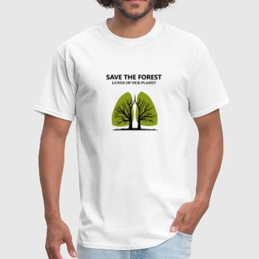 Greenpeace SAVE THE FOREST - Men's T-Shirt