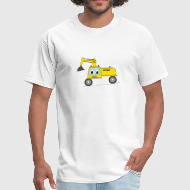 FUNNY CONSTUCTION TRUCK KID GIFT BIRTHDAY CARTOON - Men's T-Shirt