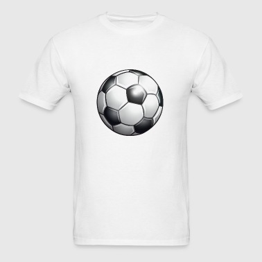Soccer ball - Men's T-Shirt