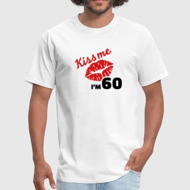 60 birthday - Men's T-Shirt