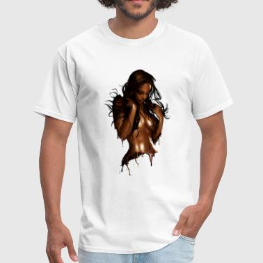 Choco girl - Men's T-Shirt