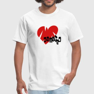 Damaged Heart - Men's T-Shirt