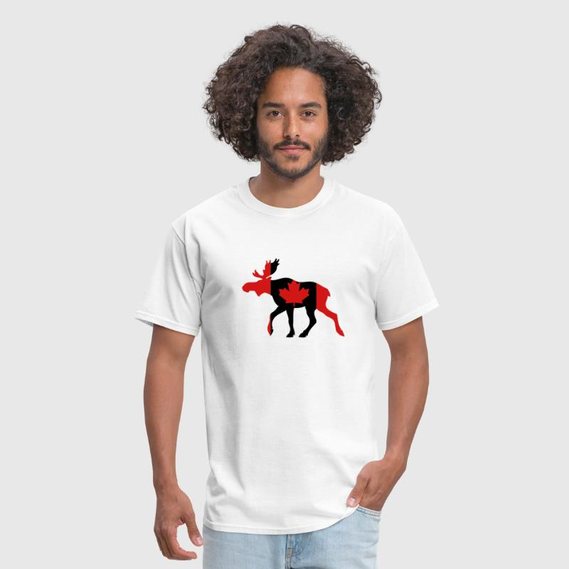 Canadian Moose - Men's T-Shirt