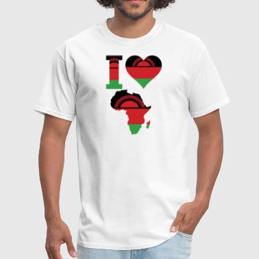 I Love Africa Malawi - Men's T-Shirt