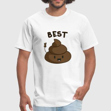Toilet Humor Best Friends - Men's T-Shirt