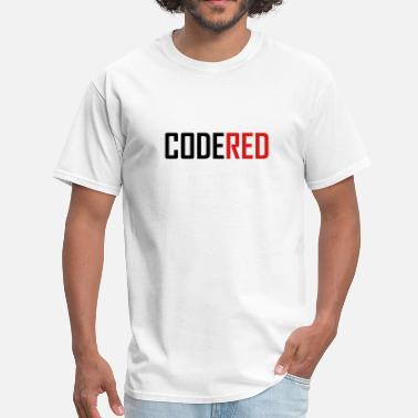 Color Code CodeRed - Men's T-Shirt