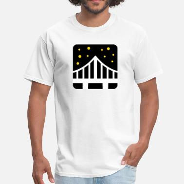 Bridge Vector Bridge  - Men's T-Shirt