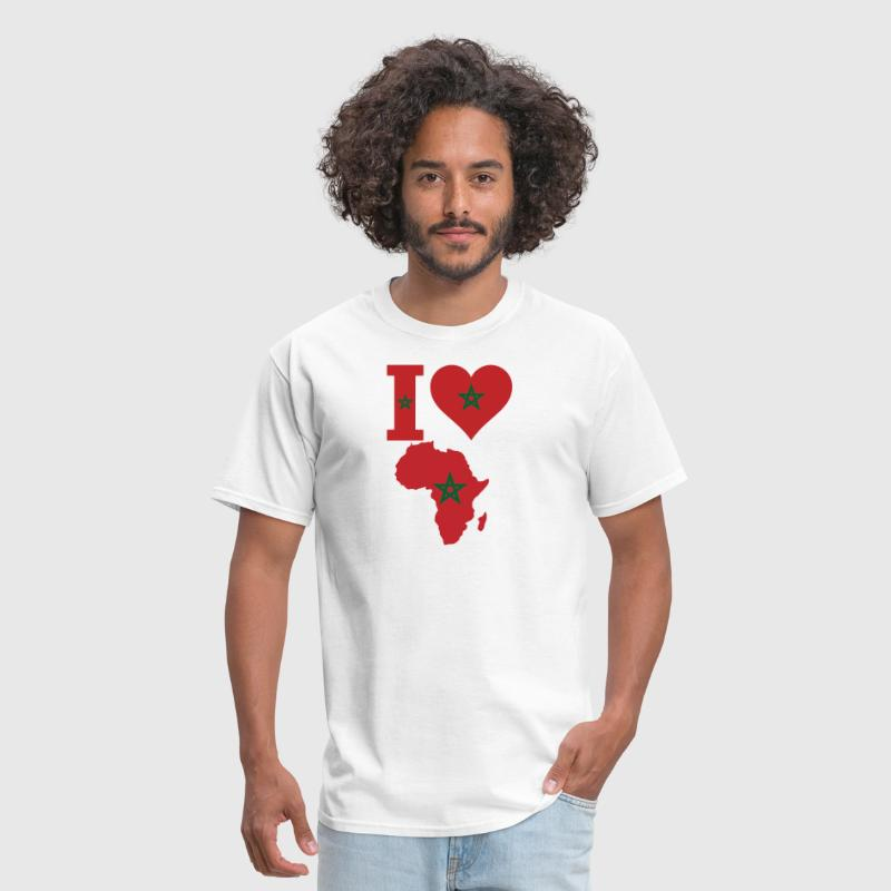 I Love Africa Morocco - Men's T-Shirt