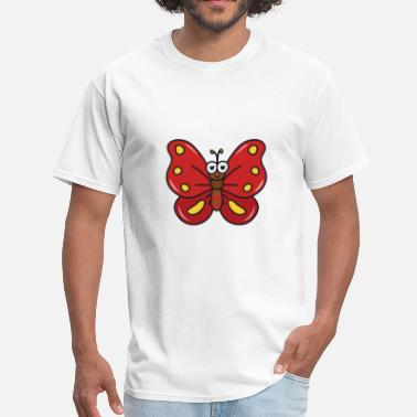 Cool Butterfly Cute Funny Cool Butterfly - Men's T-Shirt