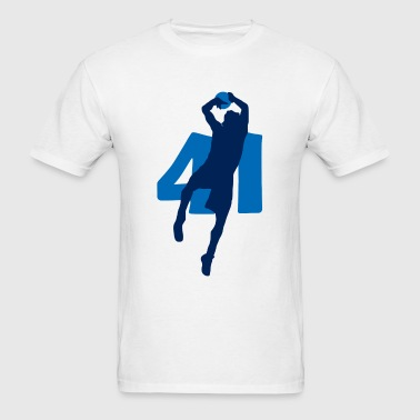 Dirk SUPERSTAR #41 Mavericks Shirt - Men's T-Shirt