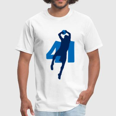 Dirk Dirk SUPERSTAR #41 Mavericks Shirt - Men's T-Shirt