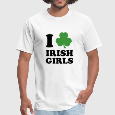I Love Irish Girls - Men's T-Shirt