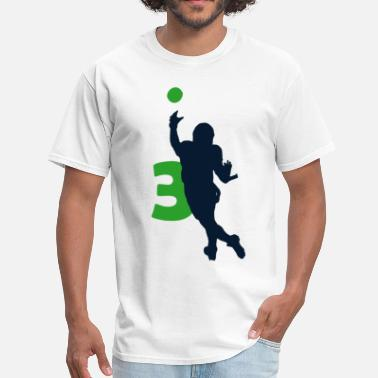 Wallpaper Wilson Seahawks Superstar Shirt - Men's T-Shirt