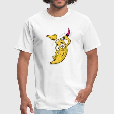 Banana Slice - Men's T-Shirt