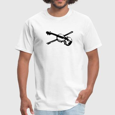 musical instrument fiddle violin - Men's T-Shirt