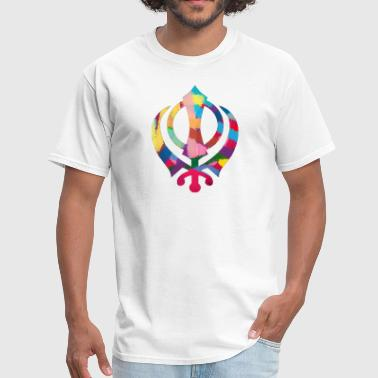 Colorful Khanda - Men's T-Shirt