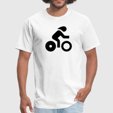 Bicycle Cycling Sport Icon - Men's T-Shirt