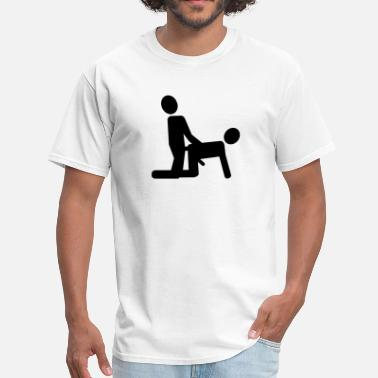 Gays Doggy Style Gay - Men's T-Shirt