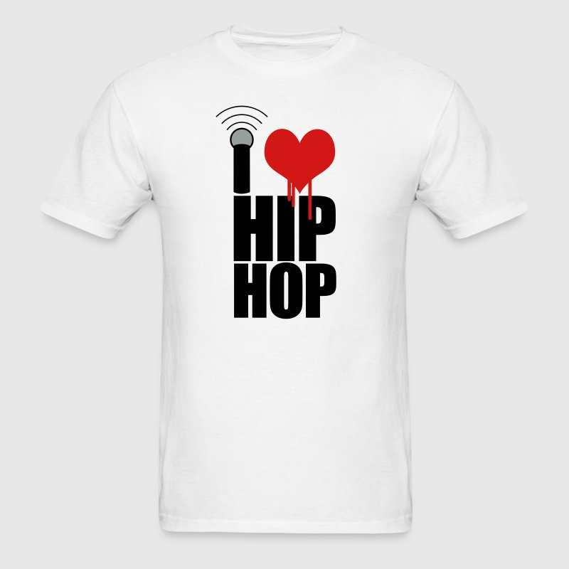 I Love Hip Hop - Men's T-Shirt