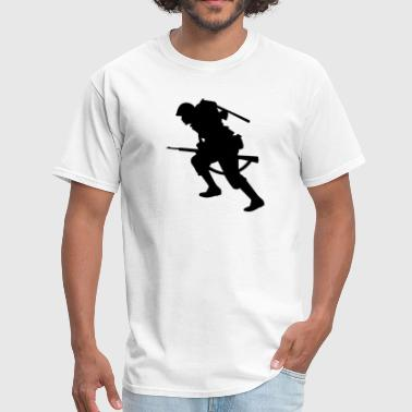 Soldier Infantry soldier - Men's T-Shirt