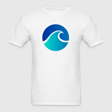 Summer - Wave - Design - Water - Vacation - Men's T-Shirt