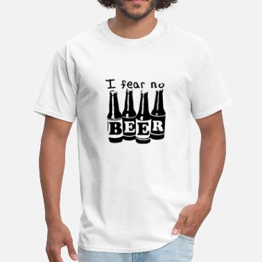 Fear Drink I fear no beer - Men's T-Shirt