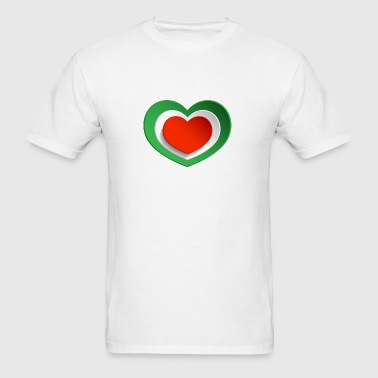 THE-MIRACULOUS-HEART - Men's T-Shirt