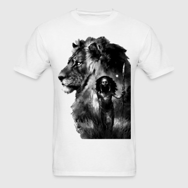 African Lion - Men's T-Shirt