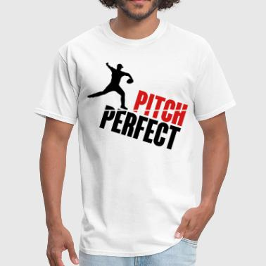 Hit Pitch Pitch Perfect - baseball - Men's T-Shirt
