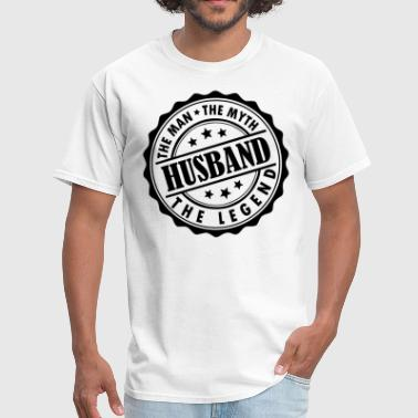 Husband-The Man The Myth The Legend - Men's T-Shirt